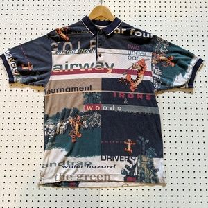 VINTAGE DISNEY GOLF POLO